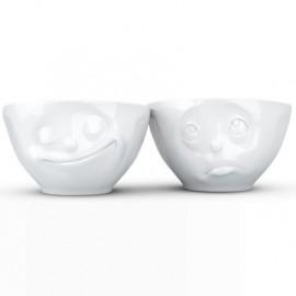 Set 2 Bowls Happy & Grumpy