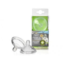 Vented Teats Tommee Tippee (Medium Flow:3 months+) (2 pieces)