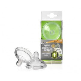 Vented Teats Tommee Tippee (Fast Flow: 6 months+) (2 pieces)