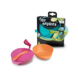 Bols Repas Easy Scoop avec Couvercle et Cuillère Tommee Tippee