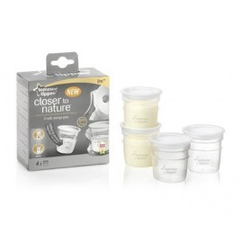 Bewaarbekers Tommee Tippee (4 stucks)