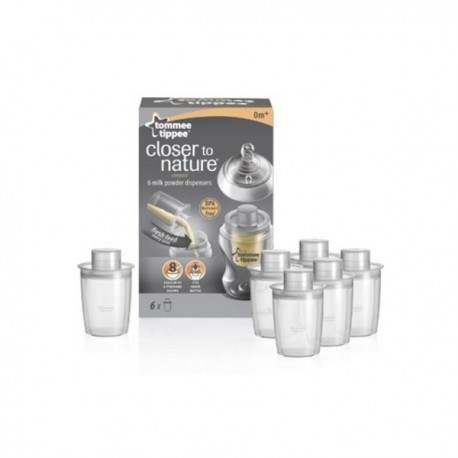 Melkpoeder Dispensers Tommee Tippee (6 stucks)