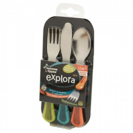 First Grown Up Cutlery Set Tommee Tippee