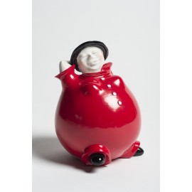 Bowlie Julia Black & Red