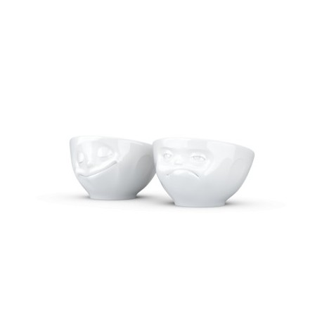 2 Morning Mood Egg Cups Set Ho Please & Greedy