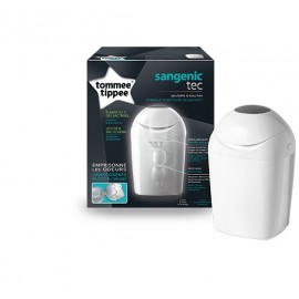 Poubelle à couches Sangenic Tec (blanche, verte ou rose) Tommee Tippee