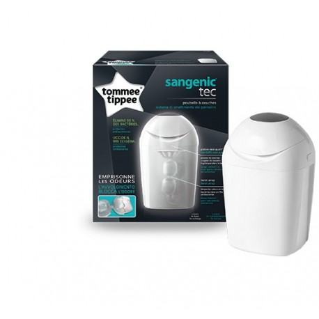 Poubelle à couches Sangenic Tec blanche Tommee Tippee