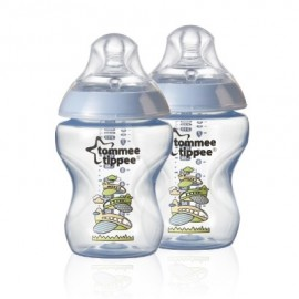 Zuigflessen 260 ml Tommee Tippee Decor Twin Pack