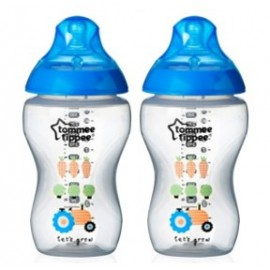 Tommee Tippee Baby Bottles Twin Pack Decor 340ml