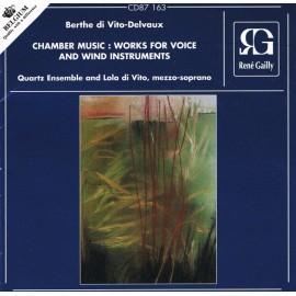 CD - Chamber Music de Berthe di Vito Delvaux