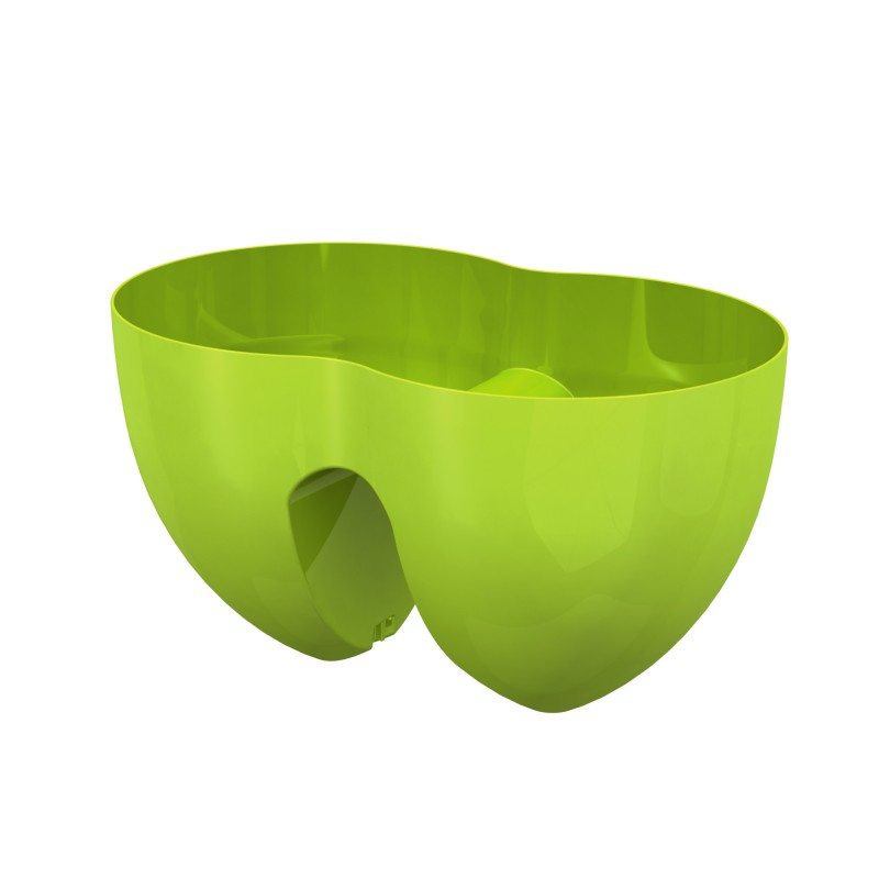 pot pour balcon 36cm vert lime. Black Bedroom Furniture Sets. Home Design Ideas