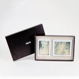 Box portefeuille + porte-cartes Splash