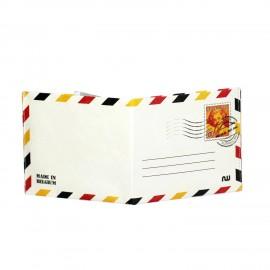 Portefeuille en tyvek Belgian Stamp