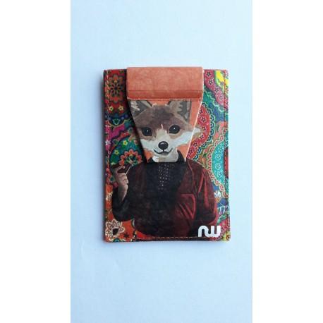 Porte-cartes Fox